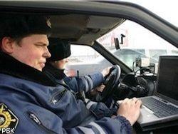 В Барнауле машина с людьми в форме полиции устроила ДТП