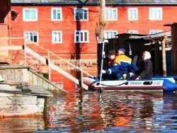 В Архангельске произошло наводнение