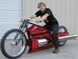 На торги выставлен реактивный Harley-Davidson
