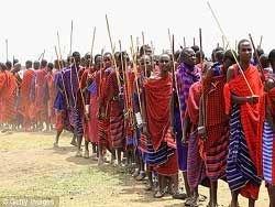 Воины Масаи ворвались в школу для девочек в поисках жён