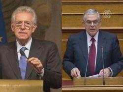 Новые лидеры в Риме и Афинах решают сложные задачи