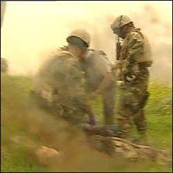 «Дружественный» американский огонь унес жизни трех британских военных