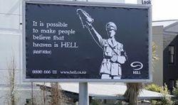 Папа Римский сменит Гитлера на рекламном щите