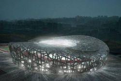 «Птичье гнездо» - главная арена пекинской Олимпиады 2008 года (фото)