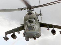 В Амурской области потерпел аварию вертолет Ми-24