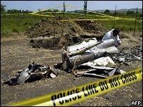 Абхазия подтвердила падение самолета