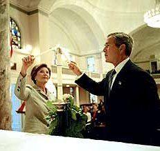Врачи разлучат Джорджа Буша с женой