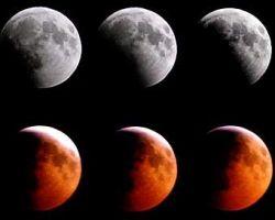 Американцы увидят полное лунное затмение во вторник