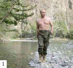 Новый образ Путина: Он выглядит так, словно может убить голыми руками