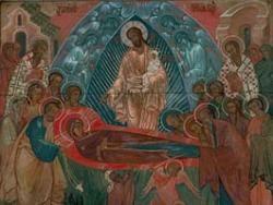 Православные отмечают праздник Успения Богородицы