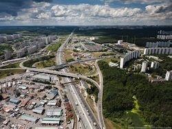 В Москве реконструируют Можайское шоссе