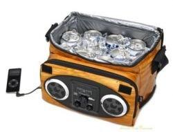Woodland iPod Ice Chest Cooler - музыкальный холодильник