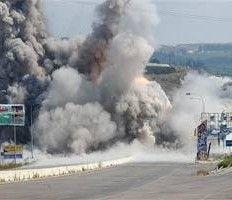 Палестинцы нанесли ракетный удар по Израилю
