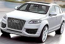 Новый внедорожник Audi Q7