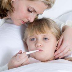 Высокая температура разрушает детский мозг