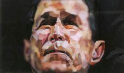 Художник составил портрет президента Буша из порножурналов