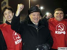 Геннадий Зюганов: чем больше красных, тем меньше голубых