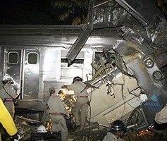 Крупная железнодорожная катастрофа в Бразилии