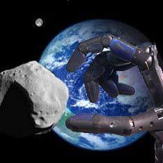 С астероидом, угрожающим Земле, разберется робот