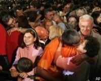 В Боснии побит мировой рекорд по поцелуям