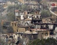 Пожарным Греции удалось взять под контроль пожары