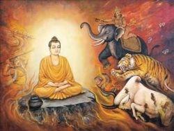 Обнаружена пещера с уникальными буддистскими статуями