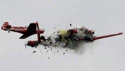 Ужасающая авиакатастрофа на авиашоу в Радоме (видео)