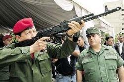 Уго Чавес: Британский флот уничтожим российским оружием