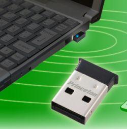 Самый маленький Bluetooth-адаптер чуть больше USB-разъема