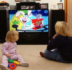 Просмотр телепрограмм ведет к расстройству внимания