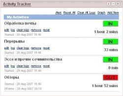 Activity Tracker — ударим гуглем по потерям времени