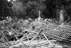 Погромы на российских кладбищах приобрели угрожающий размах