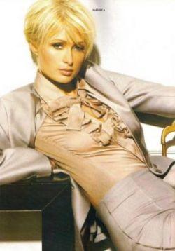 Пэрис Хилтон снялась в новом номере журнала Elle (фото)