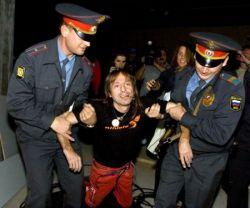 Московская милиция повязала Человека-паука (фото)