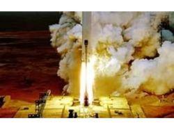 """Запуск российской ракеты-носителя \""""Протон\"""" закончился аварией"""