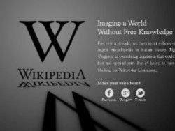 Англоязычная Википедия приостановила работу