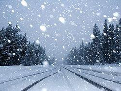 В Италии выпал химический снег