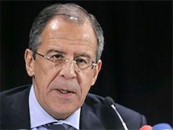 Лавров отказался объяснять груз оружия для Сирии