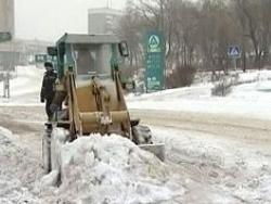 В Москве стреляли в водителя снегоуборщика
