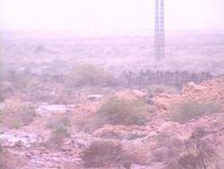 В пустыне Сахара небывалые морозы