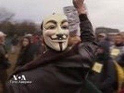 """Активисты пытаются """"захватить"""" Конгресс"""