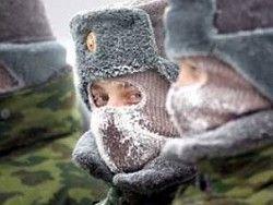 В сибирские морозы военнослужащих обеспечат салом и витаминами