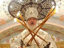 Патриарх Кирилл: не превращайте Крещение в фольклор