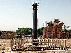 Железная колонна в Дели - это шифровка