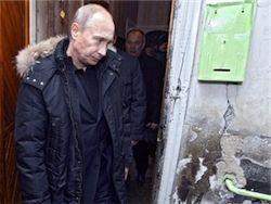 Путин признался, что с трудом просыпается по утрам