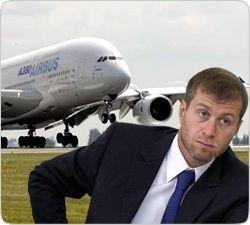 Самолет для мультимиллионера оказался не по карману Абрамовичу