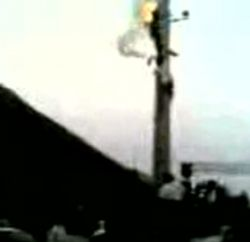 В Иране трех человек одновременно убило током (видео)