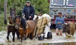 Ливни затопили восточную Румынию. Есть погибшие
