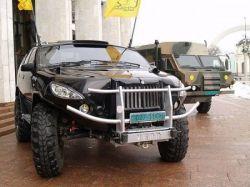 """На Украине создали бронированный джип-вездеход \""""Вепрь\"""" (фото)"""