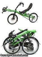 Сворачивающийся велосипед «Кузнечик»